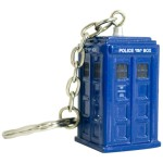 Doctor Who diecast Tardis keyring