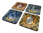 Harry Potter Shields Coaster Set - 4 Coasters