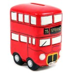 Route master Bus Ceramic Money Box