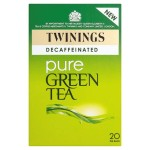 Twinings Pure Green Tea Decaffeinated 20 per pack