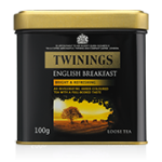 Twinings English Breakfast Loose Tea 100g Caddy