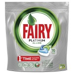 Fairy Platinum Original DishWasher Tablets, 70 Tablets