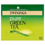 Twinings Pure Green Tea 80 per pack