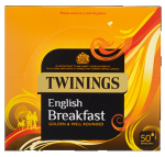Twinings English Breakfast 50 Envelope Tea Bags