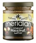 Meridian Nature's Energy Hazelnut Butter Crunchy 170g