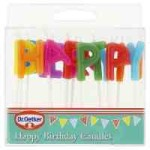 Dr. Oetker Happy Birthday Candles