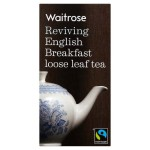 English Breakfast Loose Leaf Tea Waitrose 125g