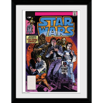 GB eye Star Wars Comic Group Framed Photographic Artwork 55cm x 46cm