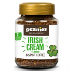 Beanies Irish Cream Instant Falvour Coffee 50g