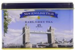 New English Teas Tower Bridge Earl Grey Traditional 25 Teabags Tin