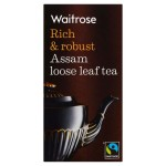 Assam Loose Leaf Tea Waitrose - Rich & Robust 125g