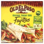 Old El Paso Kit for Original Smoky BBQ Fajitas 500g