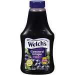 Welch's Squeezable Concorde Grape Jelly 567g