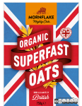 Mornflake Pure Organic Superfast Oats 750g