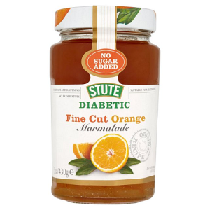 Stute Diabetic No Added Sugar Fine Cut Marmalade 430g