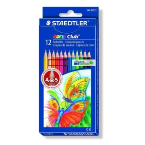 Staedtler Noris Club Colouring Pencils 12 per pack