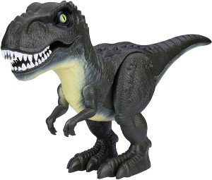 Robo Alive Zuru Attacking T-Rex Dinosaur Robotic Toy Green