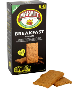 Marmite Breakfast Biscuit 252g