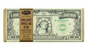 Bartons Million Dollar Chocolate Bar 57g