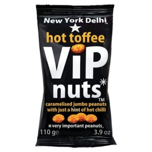 New York Delhi ViP Nuts Hot Toffee 110g