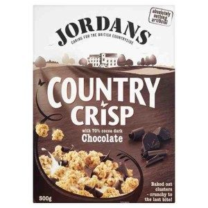 Jordans Dark Chocolate Country Crisp Cereal 500g