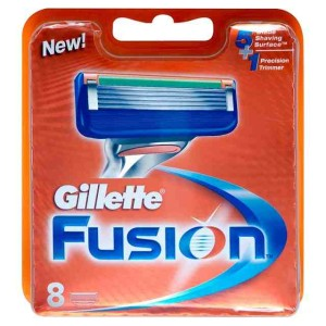 Gillette Fusion Manual Blades 8 per pack