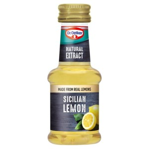 Dr Oetker Natural Sicilian Lemon Extract 35ml