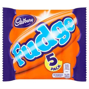Cadbury Fudge 5 x 26g