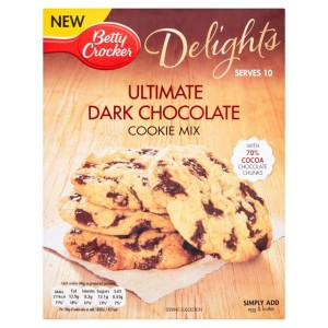 Betty Crocker Delights Ultimate Dark Chocolate Cookie Mix 330g