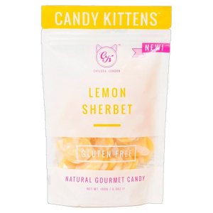 Candy Kittens Lemon Sherbet Gourmet Candy 150g
