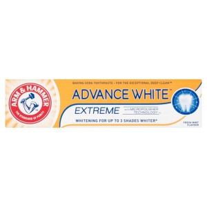 ARM & HAMMER Advance White Extreme Toothpaste 75ml