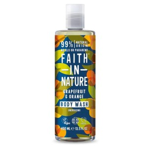 Faith in Nature Grapefruit & Orange Energising Body Wash 400ml
