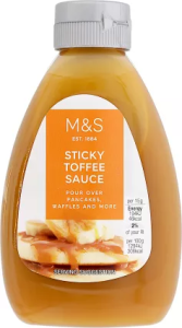 M&S Sticky Toffee Sauce 310g