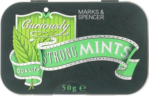 M&S Curiously Strong Mints Tin 50g