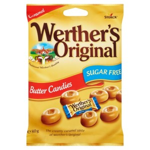 Werther's Original Butter Candies Sugar Free 80g