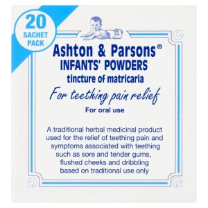 Ashton & Parsons Infants' Teething Powders 20 per pack