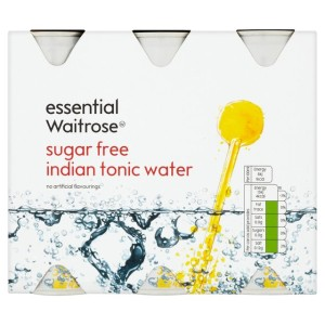 Essential Waitrose Sugar Free Indian Tonic Water 6 x 250ml