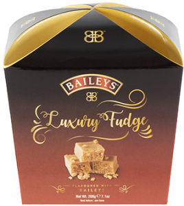 Baileys Luxury Hand Made Fudge Carton 200g