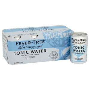 Fever-Tree Refreshingly Light Tonic Water Cans 8 x 150ml
