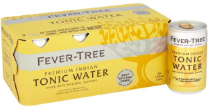 Fever-Tree Premium Indian Tonic Water Cans 8 x 150ml
