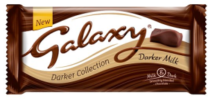 Galaxy Darker Collection Milk Chocolate 110g