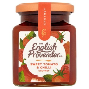 English Provender Co Sweet Tomato & Chilli Chutney 325g