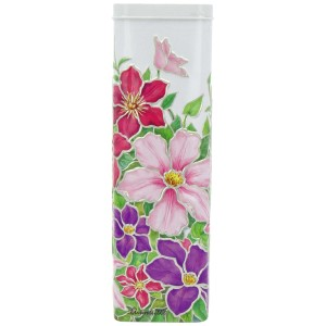 Churchill's Clematis Tin with Shortbread Rounds 250g