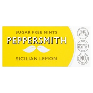 Peppersmith Lemon Dental Mints 15g