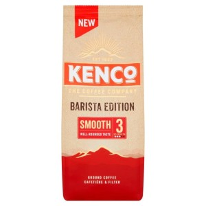 Kenco Barista Edition Smooth Ground Coffee 212g
