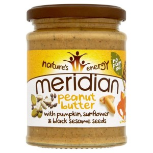 Meridian Peanut Butter with Seeds 280g