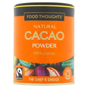 Food Thoughts Fairtrade Organic Cacao Powder 125g