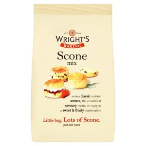 Wrights Baking Scone Mix 320g