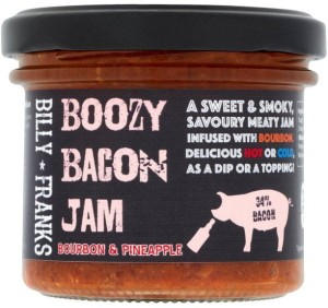 Billy Franks Boozy Bacon Jam Bourbon & Pineapple 125g