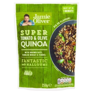 Quinoa with Tomato and Olive Jamie Oliver Ready to Eat 250g